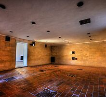 Brausbad - Gas Chamber, Daschau Concentration Camp by Luke Griffin