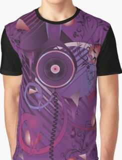 Stylized Music Poster 2 Graphic T-Shirt