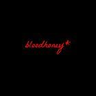 bloodhoney* iPhone case - black by harun mehmedinovic