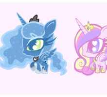 Weeny My Little Pony- Princesses Sticker