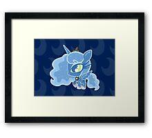 Weeny My Little Pony- Princess Luna Framed Print