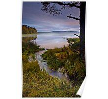 Misty Loch @ Sunrise Poster
