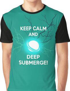 Keep Calm and Deep Submerge - Sailor Moon Graphic T-Shirt