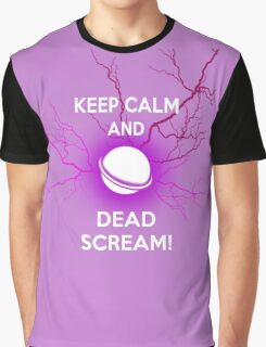 Keep Calm and Dead Scream- Sailor Moon Graphic T-Shirt
