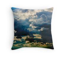 Solent Sun Throw Pillow