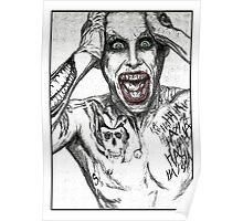 Joker (Jared Leto) Poster
