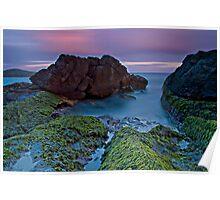 Fingal Bay Sunset Poster