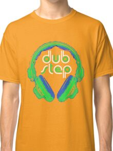 Dubstep Headphones T-Shirt Classic T-Shirt