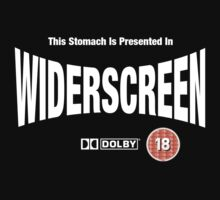 Presented In Widerscreen (White Text) by Buleste