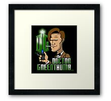 Doctor Greenthumb Framed Print