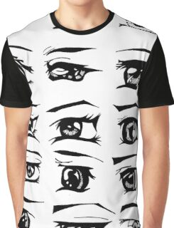 Manga Eyes Graphic T-Shirt