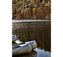 Fall Canoeing At Beavers Bend Photographic Print