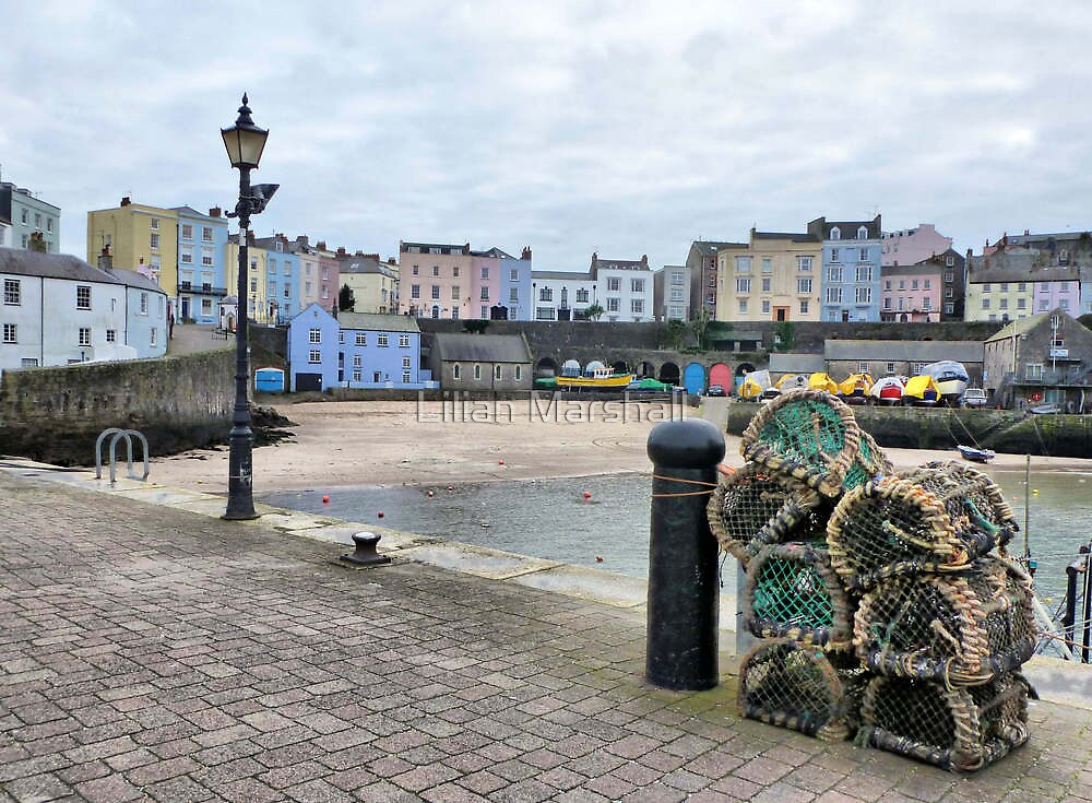 Tenby Harbour  by Lilian Marshall