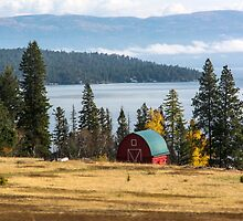 The Barn at Milepost 87 by Bryan D. Spellman