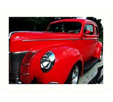 1940 Ford Deluxe Art Print