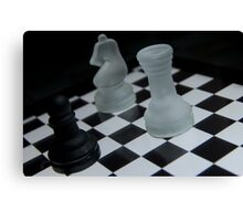 Chess Challenge Canvas Print