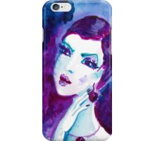 watercolour portrait iPhone case iPhone Case/Skin