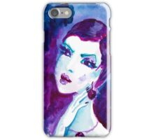 watercolour portrait iPhone case iPhone Case/Skin