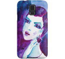 watercolour portrait iPhone case Samsung Galaxy Case/Skin