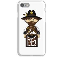 "Cute ""wild West' Cowboy Sheriff iPhone Case/Skin"