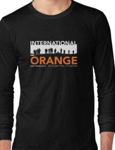 International Orange Summit 2015 San Francisco Architecture T-shirt Long Sleeve T-Shirt