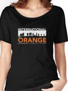 International Orange Summit 2015 San Francisco Architecture T-shirt Women's Relaxed Fit T-Shirt