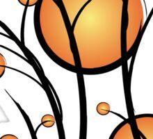 Sun and branches Sticker
