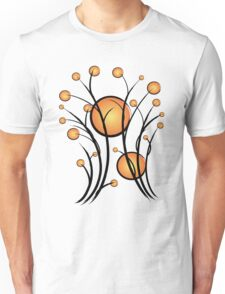 Sun and branches Unisex T-Shirt