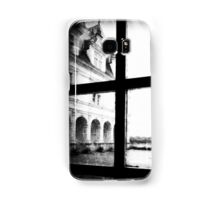 French Chateau through a window Samsung Galaxy Case/Skin