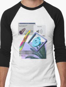 Astari Vaporwave Aesthetics Men's Baseball ¾ T-Shirt