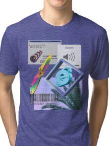 Astari Vaporwave Aesthetics Tri-blend T-Shirt