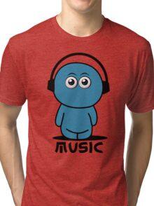 Blues Music Tri-blend T-Shirt