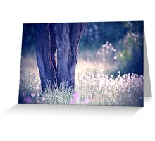 Spring is in the air, wildflowers everywhere Greeting Card
