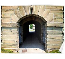 Fort Ontario Entrance Tunnel Poster