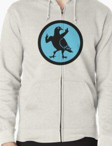 Pigeon Skank Zipped Hoodie