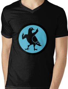 Pigeon Skank Mens V-Neck T-Shirt