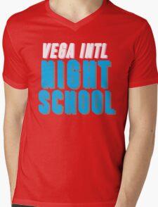 Vega Intl. Night School Mens V-Neck T-Shirt
