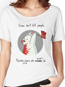 guns don't kill people - blood Women's Relaxed Fit T-Shirt
