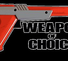Zapper - Weapon of choice by spectralstories