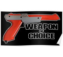 Zapper - Weapon of choice Poster