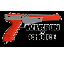 Zapper - Weapon of choice Photographic Print