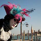 Carnavale di Venezia Masks II by Louise Fahy