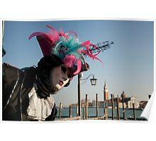 Carnavale di Venezia Masks II Poster