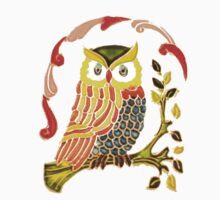 Lovely Cute Owl Kids Clothes