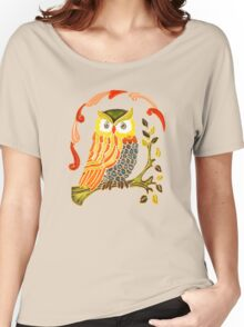 Lovely Cute Owl Women's Relaxed Fit T-Shirt