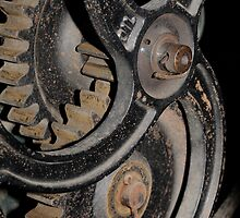Cogs, antique machinery by Stan Daniels