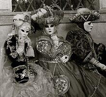 Carnavale di Venezia Masks IV by Louise Fahy