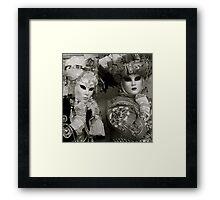 Carnavale di Venezia Masks IV.I Framed Print