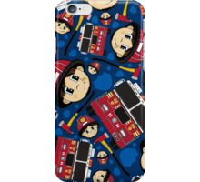 Cute Firefighter and Fire Engine iPhone Case/Skin