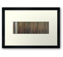 Moviebarcode: Le dîner de cons (1998) Framed Print